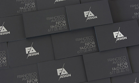 FA Design Business Card 75 Creative Cards