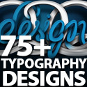 Post thumbnail of Fonts Typography: 75+ Highly Creative Typography Designs