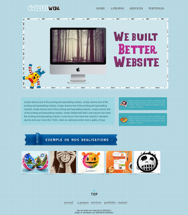 Web Interfaces: 35+ Creative Web Interface Designs