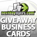 Giveaway: Win set of 500 Standard Business Cards Printed In Both Sides