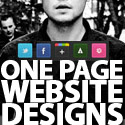 Single Page Websites (One Page Website) Designs For Inspiration