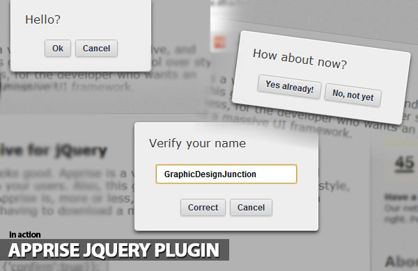 apprise-jquery-plugin