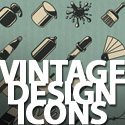 Post thumbnail of 50 Free Vintage Design Icons