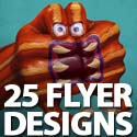 Post thumbnail of 25 High-Res Creative Flyer Designs