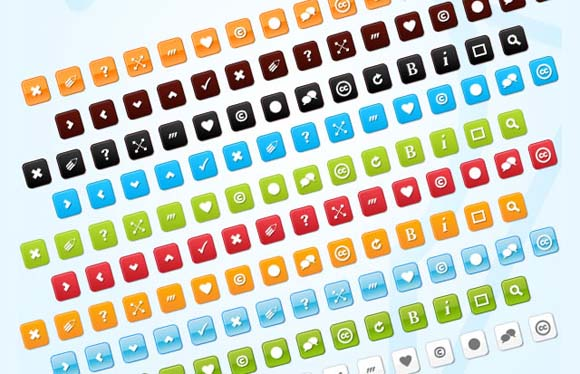 25 Fresh Free Icon Sets