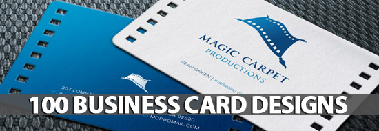 Post image of 100+ Business Card Designs