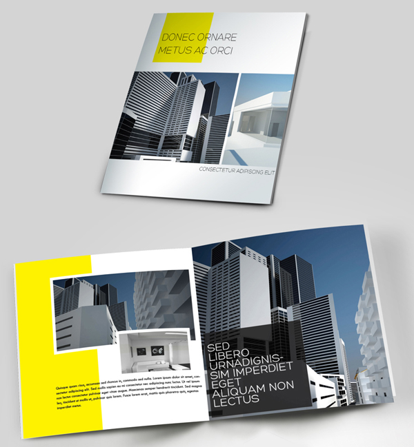 25 Brochure Designs Creative & Inspiring | Inspiration | Graphic