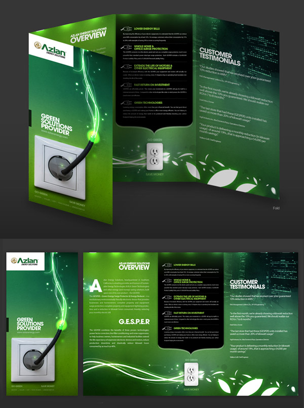 25 Brochure Designs Creative & Inspiring | Inspiration | Graphic ...
