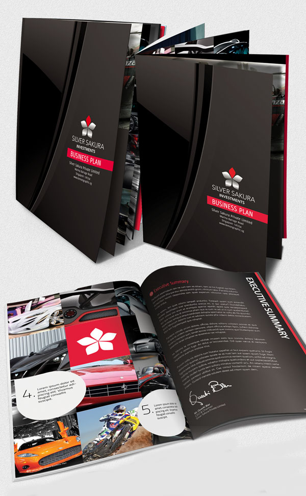 interesting brochure designs - 25 brochure designs creative inspiring inspiration