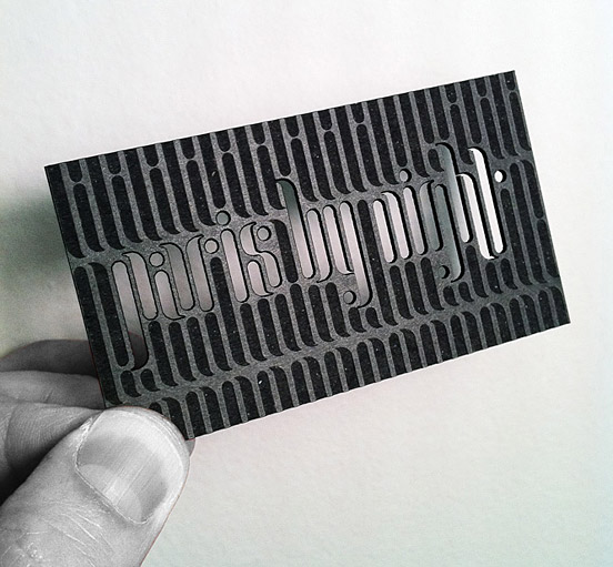 GraphicDesignJunction: 100 Business Card Designs