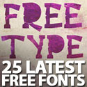 Post thumbnail of Free Fonts: 25 Latest Fonts To Make Better Design