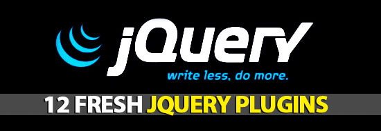 12 Fresh jQuery Plugins