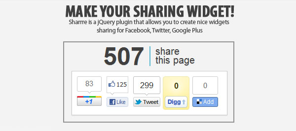 sharing-widget-jquery-plugin