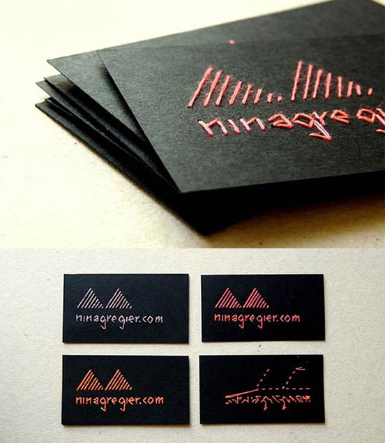 45 Stylish Business Card Designs Of 2011