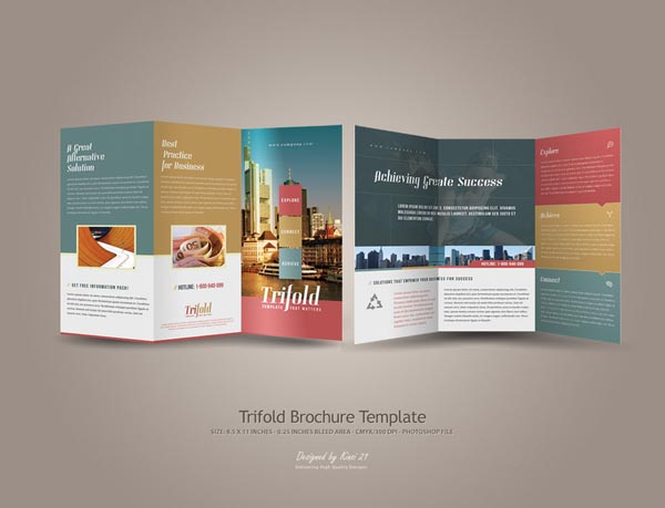 Brochure Designs: 25 Design For Your Inspiration | Design