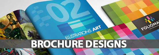 Brochure Designs: 25 Design For Your Inspiration