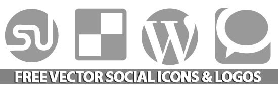 Post image of Fee Vector Social Media Icons & Logos