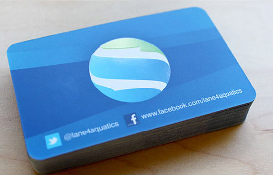 Rounded Corner Business Card Designs