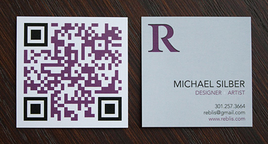 Square Business Cards Creative & Inspiring