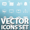 Post thumbnail of Free Vector Icons Set – 91 Icons