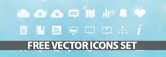 Post image of Free Vector Icons Set – 91 Icons