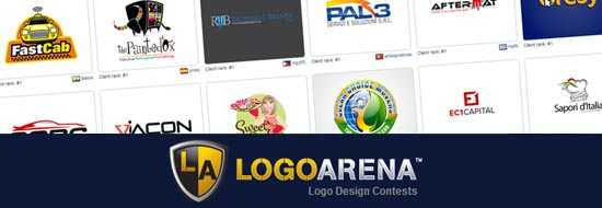 LogoArena – Get Best Custom Logo Design