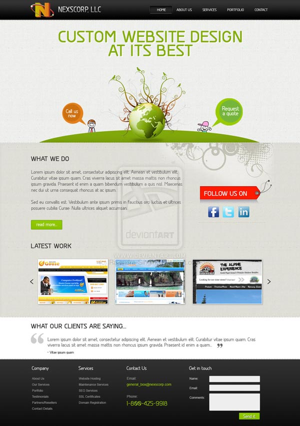 Web Interface Design
