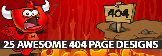 Awesome 404 Page Designs - Best Post Of 2012