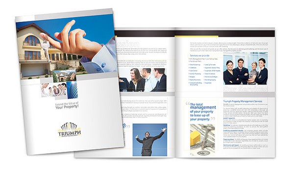 Brochure Designs For Great Inspiration  Design  Graphic