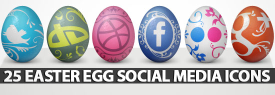 Post image of 25 Easter Egg Social Media Icons