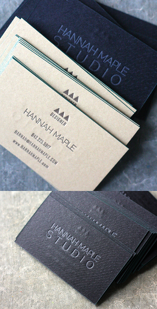 65 Fresh Business Cards