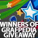 Post Thumbnail of Winners of Grafpedia Giveaway - 3 VIP Accounts
