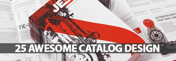 25 Awesome Catalog Design