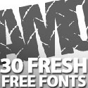 Post Thumbnail of 30 Fresh Free Fonts