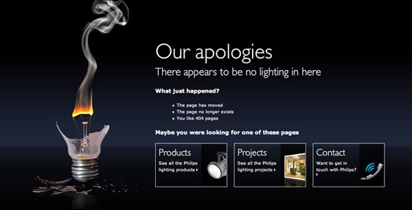 404 Error Pages – 26 Awe-inspiring Designs | Inspiration | Graphic ...