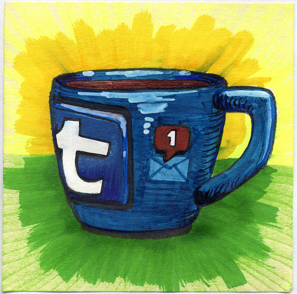 50 Beautiful Coffee Mug Illustration