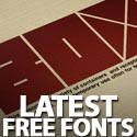 Post Thumbnail of 12 Latest Free Fonts