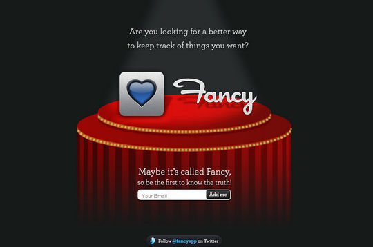 Fancy Coming Soon Page Design
