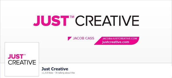 Just Creative Facebook Timeline Cover