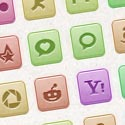 Post Thumbnail of 110 Vector Social Media Icons - Freebie