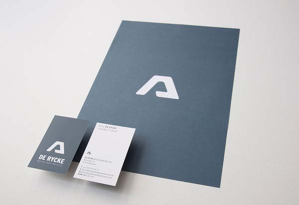 De Rycke Business Card Design