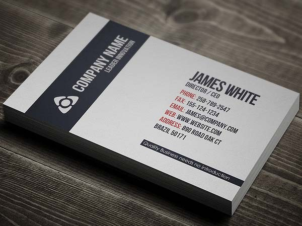 Ultimate Collection Of Business Cards Design 26 Examples