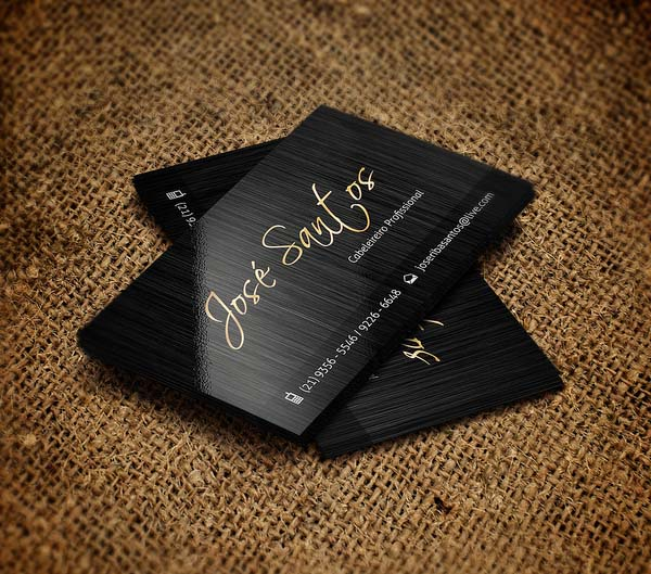 Jose Santos Business Card Design