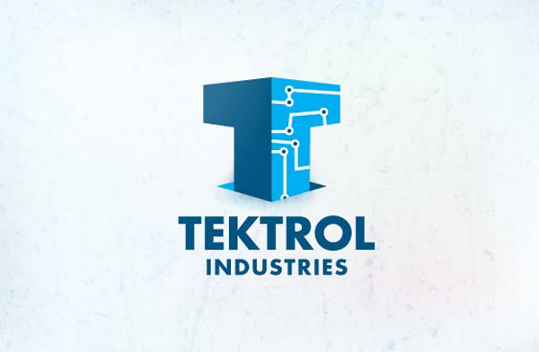 Tektrol industries logo design