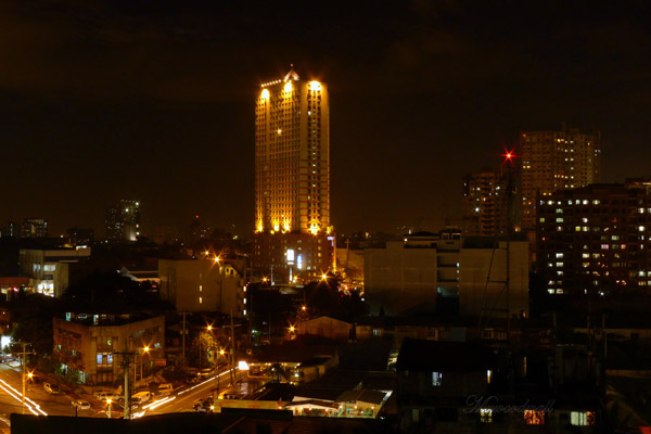 Manila at night (Philippines)