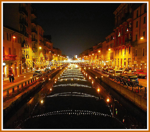 Milan at night (Italy)