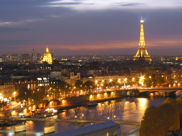 Paris at night (France)