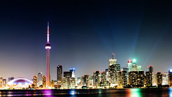 Toronto at night (Canada)