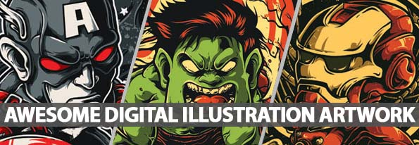 40 Awesome Digital Illustration And Artwork By Creative Artists Around The World