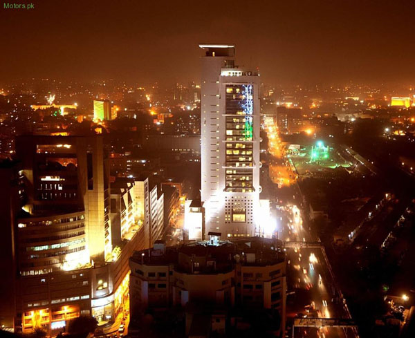 Karachi at night (Pakistan)